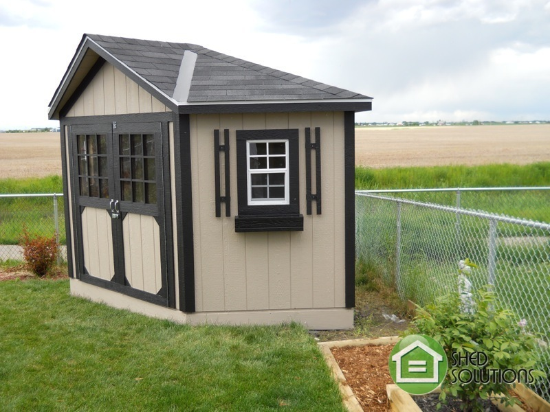 10 X 10 Garden Shed The Everett Corner Unit Shed Solutions