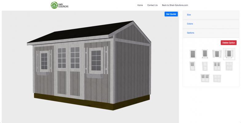 3D Shed Builder